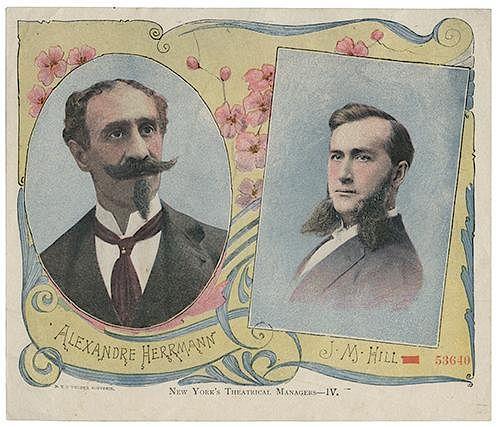 Color Lithographed Alexander Herrmann Portrait