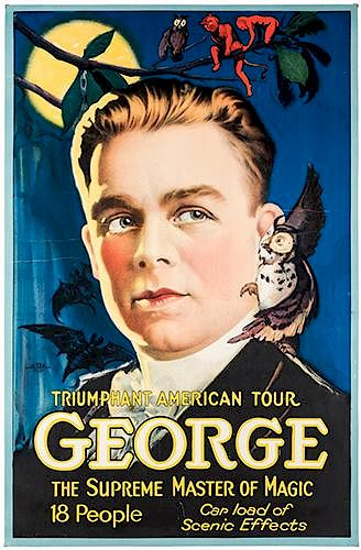 Triumphant American Tour. Supreme Master of Magic