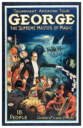 Triumphant American Tour: George, Supreme Master of Magic