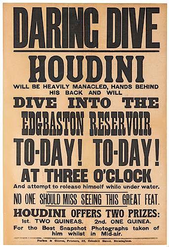 Houdini – Daring Dive Into the Edgbaston Reservoir