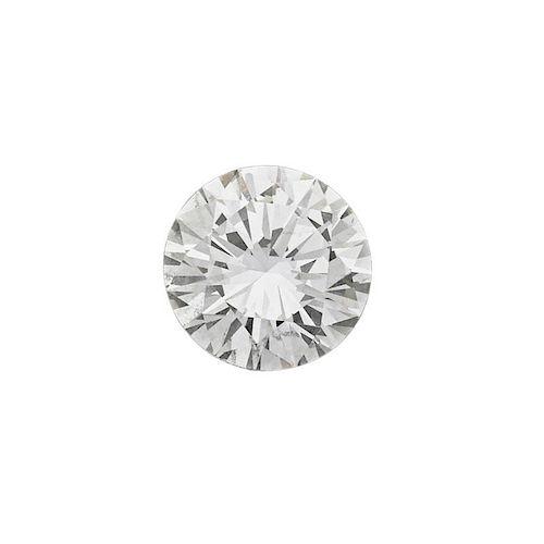 4.62 CTS UNMOUNTED ROUND BRILLIANT CUT DIAMOND