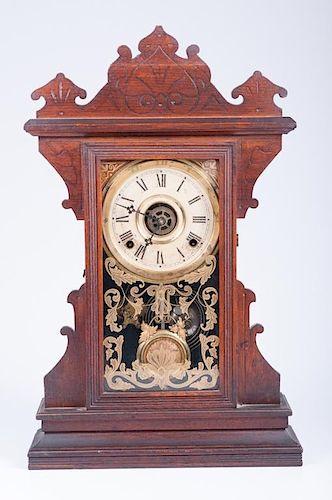 "William L. Gilbert ""Buffalo"" Gingerbread  Clock"
