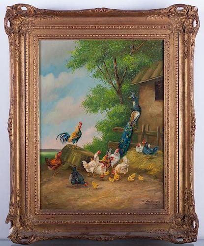 Bogdan Kaudetzky Oil on Canvas