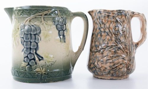 Roseville Pottery Pitchers Pair