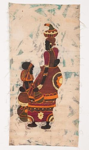 African Tapestry Art