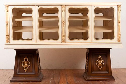 Mercantile Display Case, Painted, Two-Sided