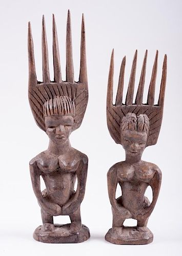 Ivory Coast Fertility Combs, Two (2)