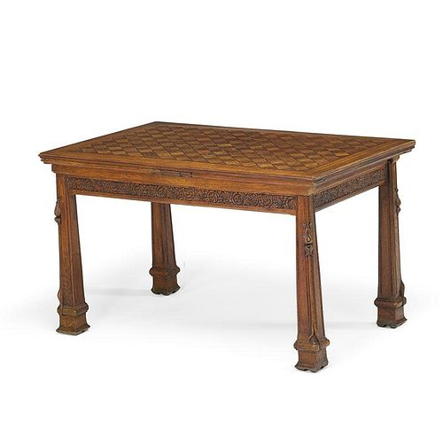 FRENCH OAK REFECTORY TABLE