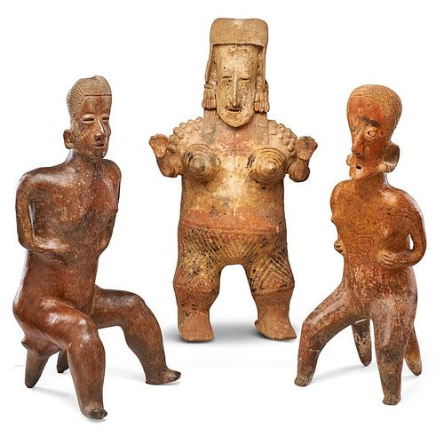 PRE-COLUMBIAN STYLE FIGURES