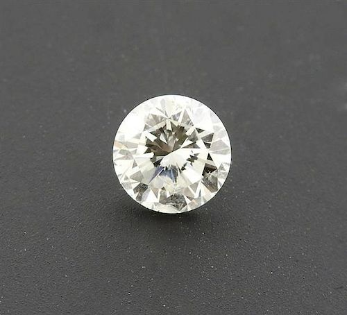 GIA Cert 1.01ct I I1 Round Brilliant Loose Diamond