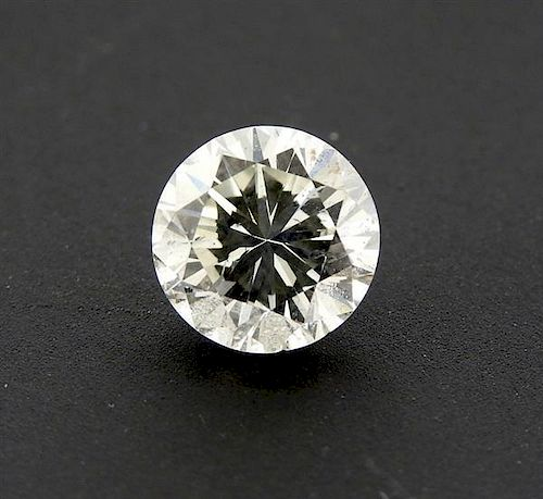 GIA Cert 1.50 ct H SI2 Round Brilliant Loose Diamond