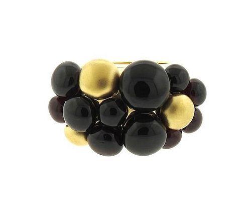 Pomellato Mora 18K Gold Garnet Ring