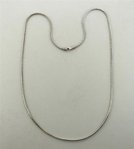 John Hardy Sterling 2.5mm Chain Necklace