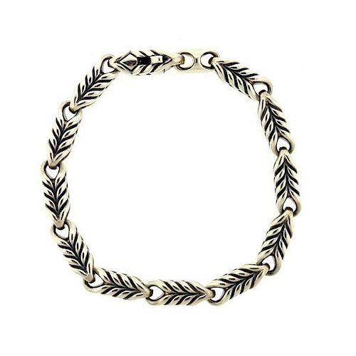 David Yurman Sterling Chain Bracelet