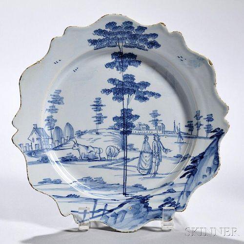 Tin-glazed Earthenware Estuary Plate