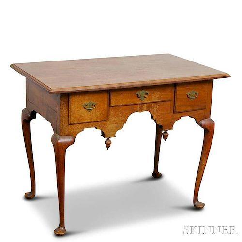 Queen Anne Walnut Dressing Table