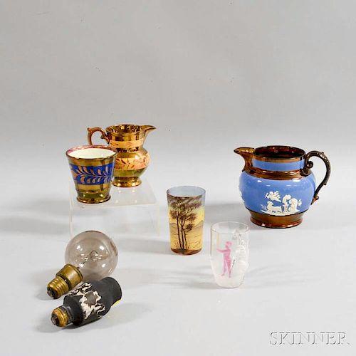 Seven Decorative Items