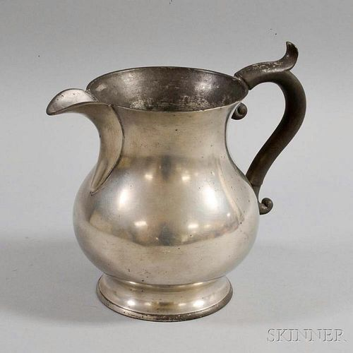 Sellew & Co. Pewter Pitcher