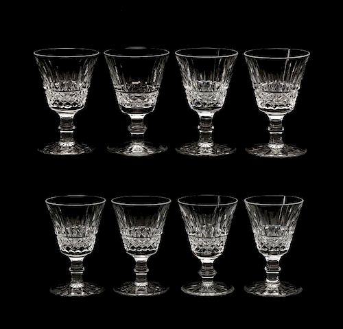 """Set of 8 Waterford """"Tramore"""" Port Wine Glasses"""
