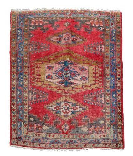 "Hand Woven Persian Turkaman Bag 2' 1"" x 3' 8"""