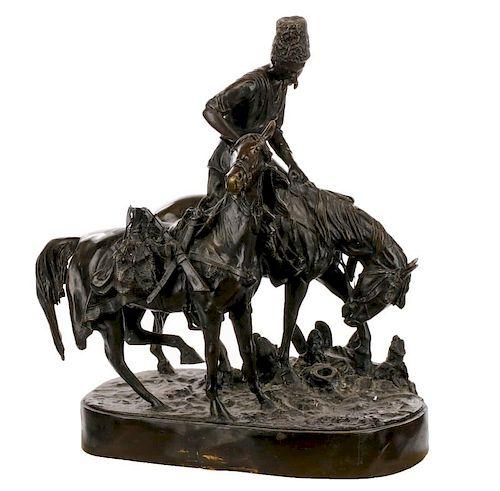 After Evgeny Alexandrovich Lanceray, Bronze