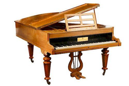 Rare Baby Grand Piano, W. Bell Piano Company