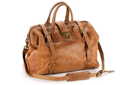 The J. Peterman Company Genuine Gladstone Bag