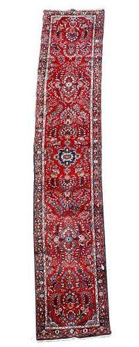 "Hand Woven Persian Hamadan Runner 2' 10"" x 17' 2"""