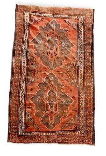 "Hand Woven Persian Hashtrood Rug 4' x 6' 9"""