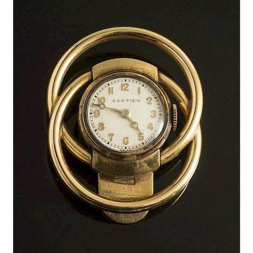Cartier Lapel Watch, Julia Morgan