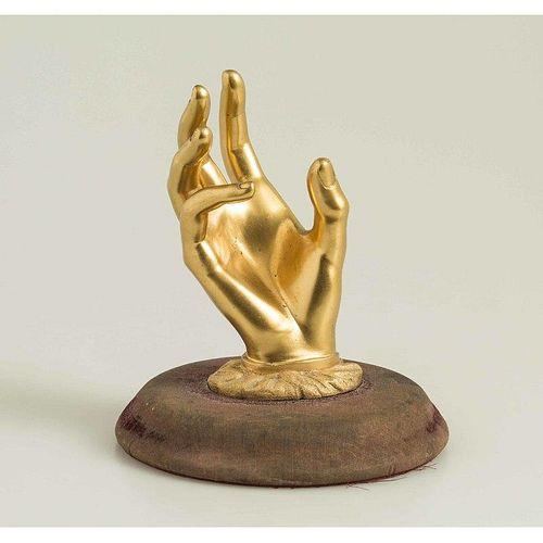 19th c. Gilt Bronze Ring Holder