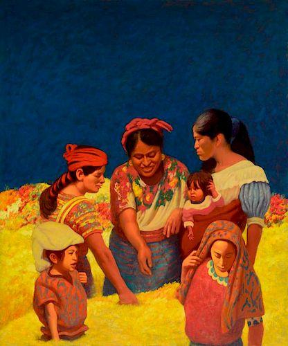 Elias Rivera (b. 1937) Untitled