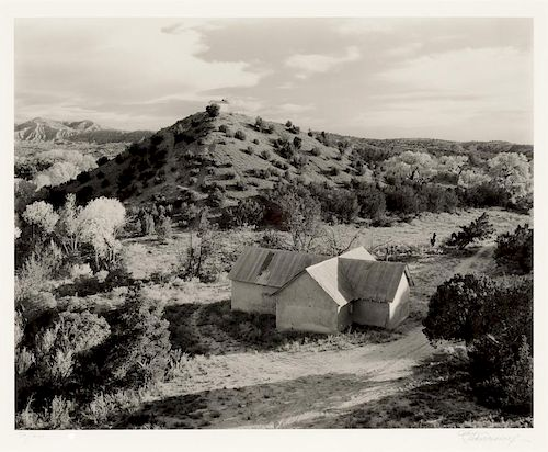 Craig Varjabedian (b. 1957) Cruciform Morada and Family Chapel on 1990