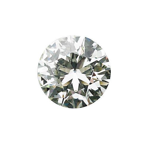 8.95 CTS UNMOUNTED ROUND BRILLIANT CUT DIAMOND