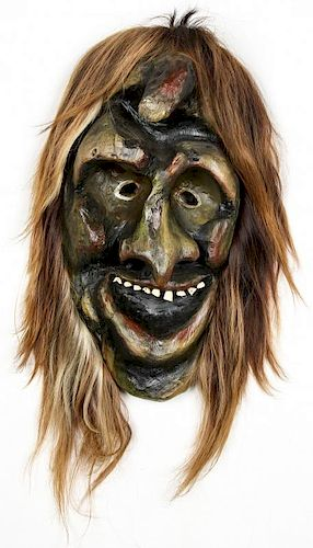 Swiss Tschaggattta Carnival Mask