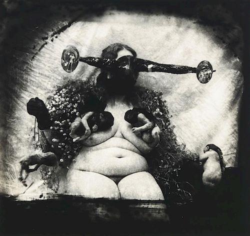 "Joel-Peter Witkin (b. 1939) ""Woman as the Measure of All Things, N.M."""