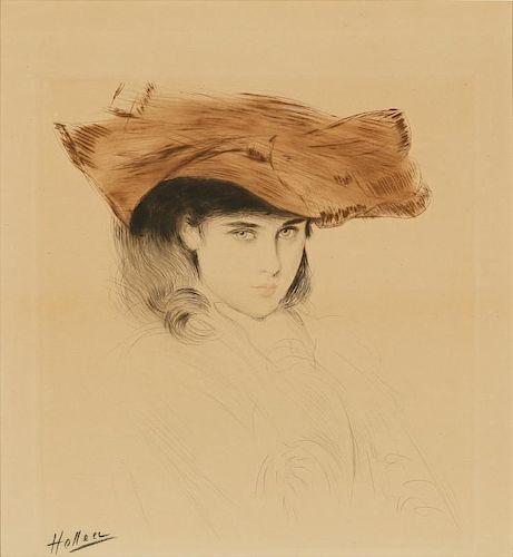 Paul Cesar Helleu (1859-1927) Drypoint Etching