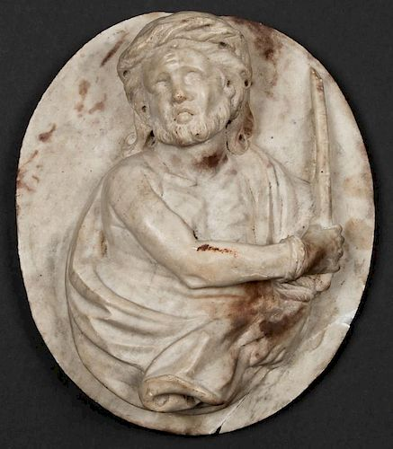 Architectural Carved Marble Relief Sculpture