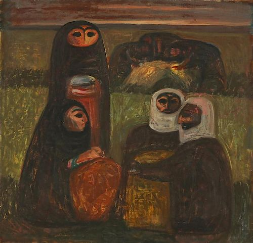 Unknown Artist (20th c.) Oil Painting