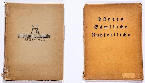 2 Albrecht Durer Monographs