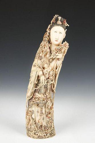 Antique Figural Quan Yin