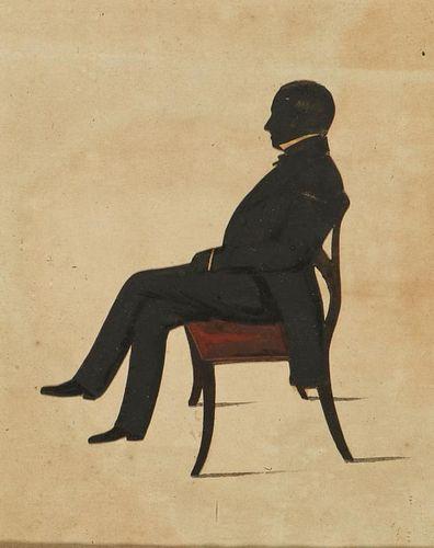 19th C Silhouette