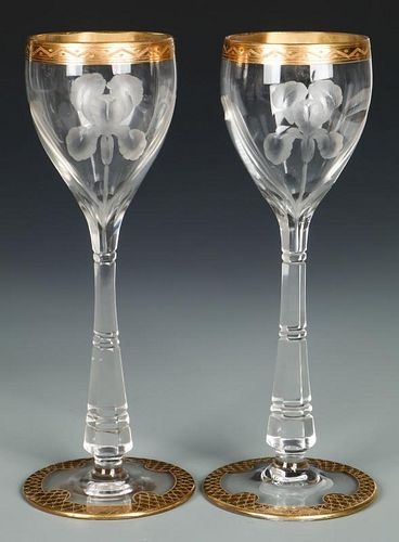 Antique Stemware Goblets