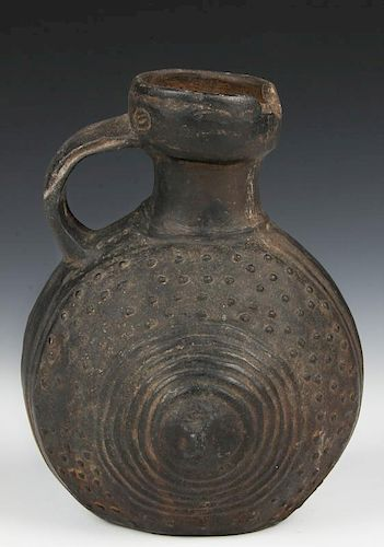 Pre Colombian Chimu Style Anthropomorphic Pot