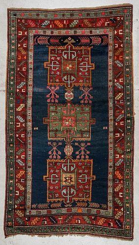 Antique Kazak Rug: 4'8'' x 8'2'', 142 x 250 cm