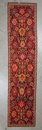 Antique Karabagh Rug: 3'8'' x 15'2''