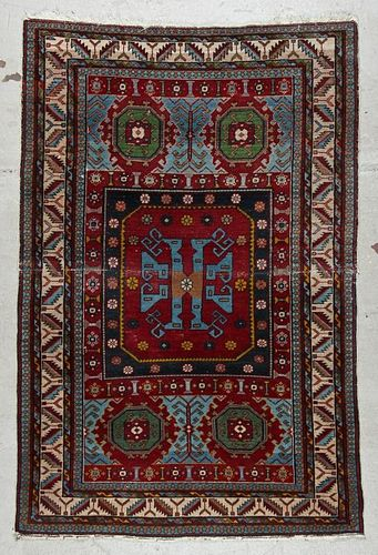 Antique West Persian Rug: 3'9'' x 5'7''