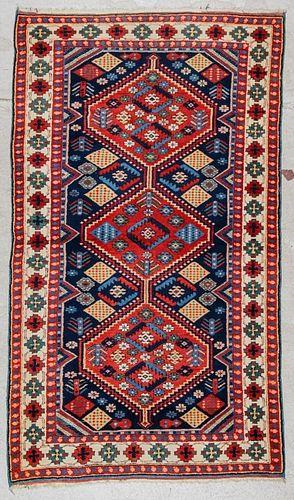 Vintage Turkish Rug: 3'5'' x 5'11''