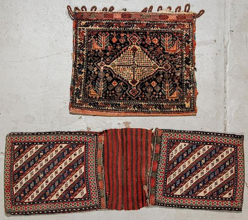 2 Antique Shahsavan and Shiraz Trappings