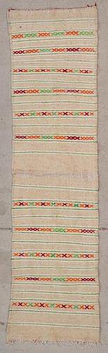 "Vintage Moroccan Kilim: 2'2"" x 8'2"" (67 x 250 cm)"